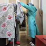 Як голосують хворі на COVID-19 в лікарні на Донеччині (ФОТО, ВІДЕО)