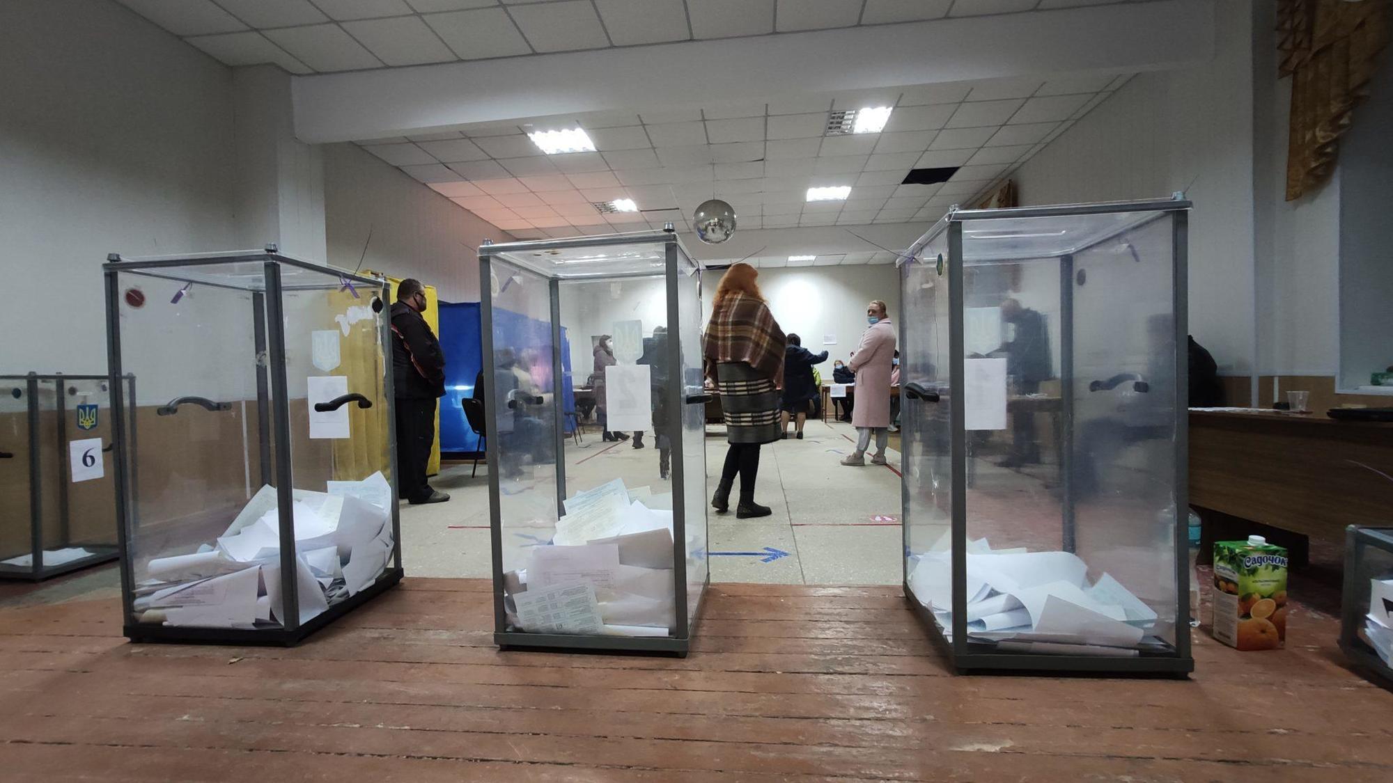 вибори 2020, виборча дільниця, виборчі урни