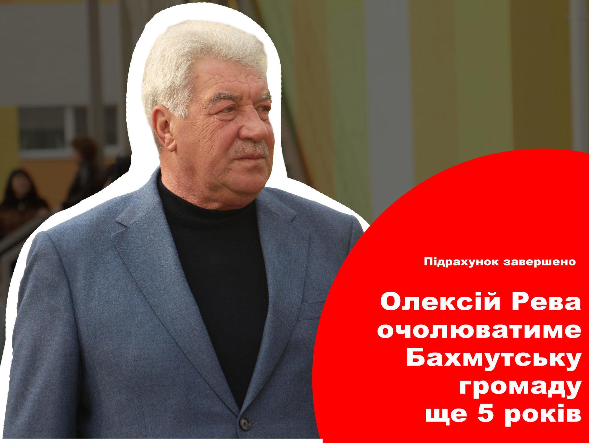 Олексій Рева став мером, Олексій Рева очолив громаду