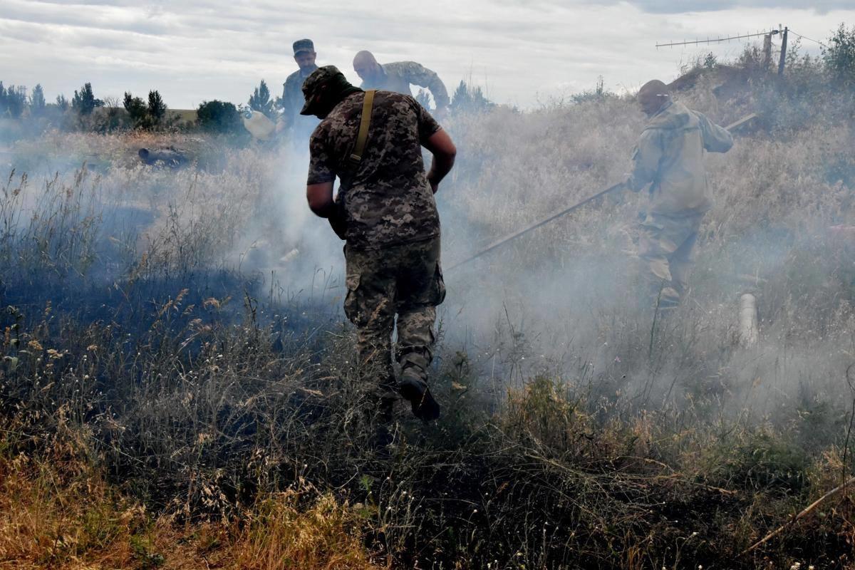 Доба в ООС: бойовики порушили режим тиші 1 раз, українські бійці продовжують гасити пожежі