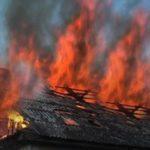 У Слов'янському районі в пожежі на чоловіка та немовля впала стеля. Вони вижили