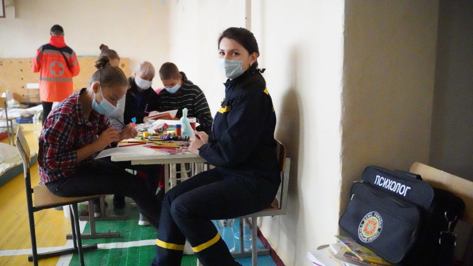 психолог допомога постраждалим у пожежах на Луганщині