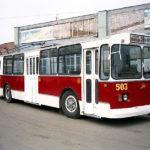 На балансі бахмутського тролейбусного парку поменшає машин. 2 тролейбуси віддали на списання