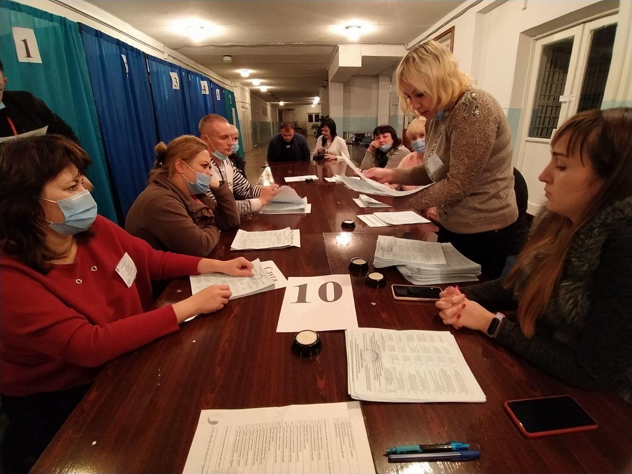 підрахунок голосів, вибори 2020