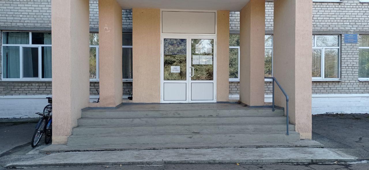 поріг ганок шкільна будівля фасад недоступність ДВК