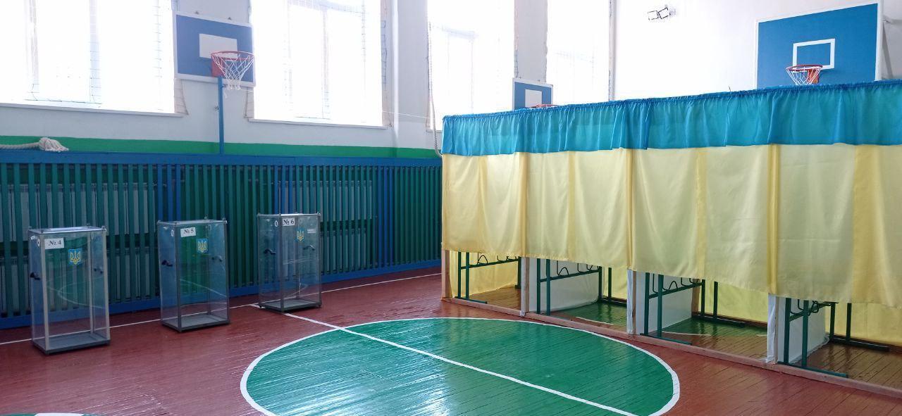 спортзал виборча дільниця сільська школа двк