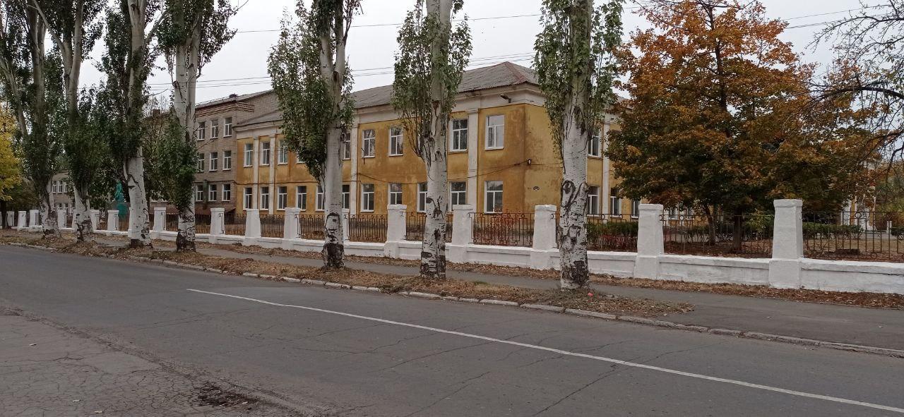 школа 15 Часів-Яр довоєнна будівля
