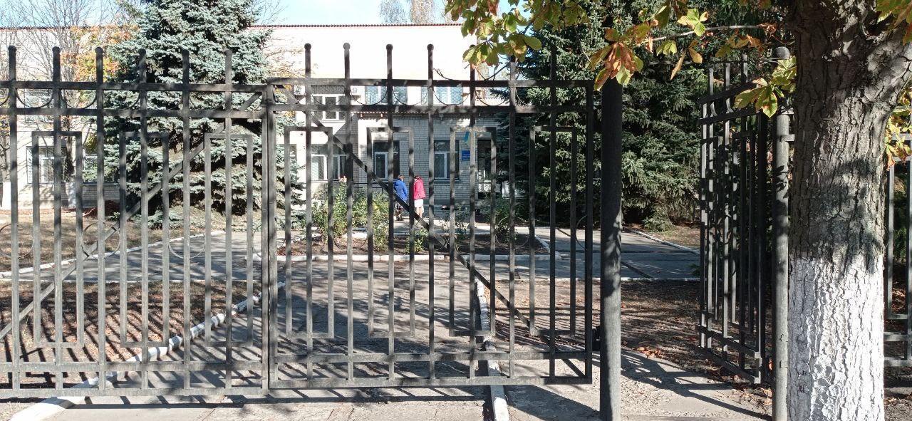 інклюзія ворота бордюр вода Донбасу Часів-Яр