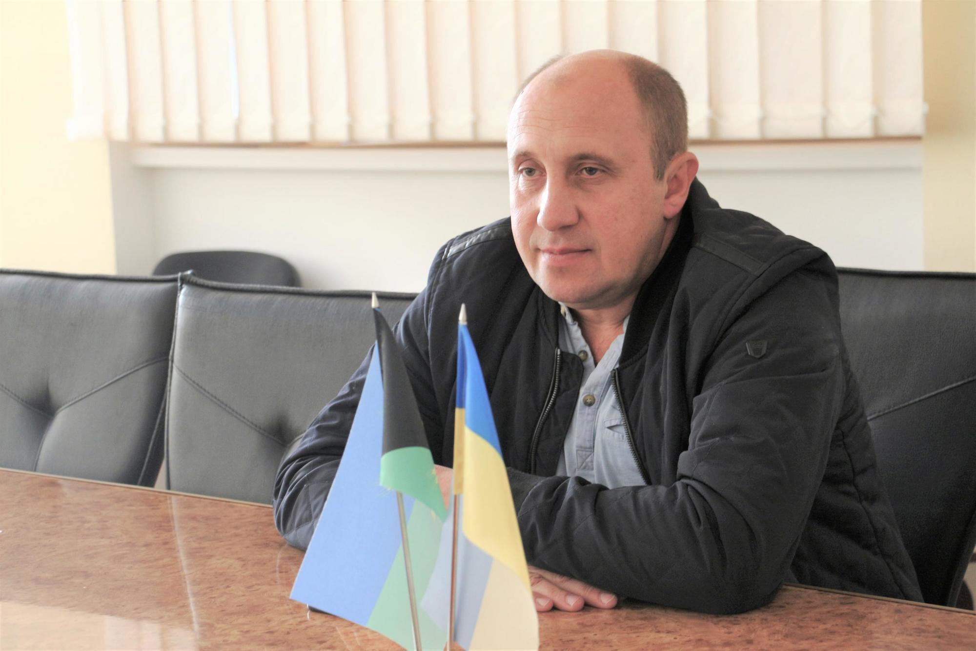 Андрій Черняєв сіверський міський голова прапор України посадовець