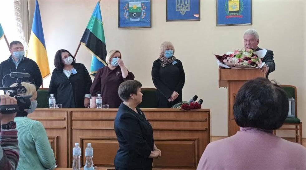 Світлана Кіщенко Олексій Рева мер Бахмута Бахмутська райрада