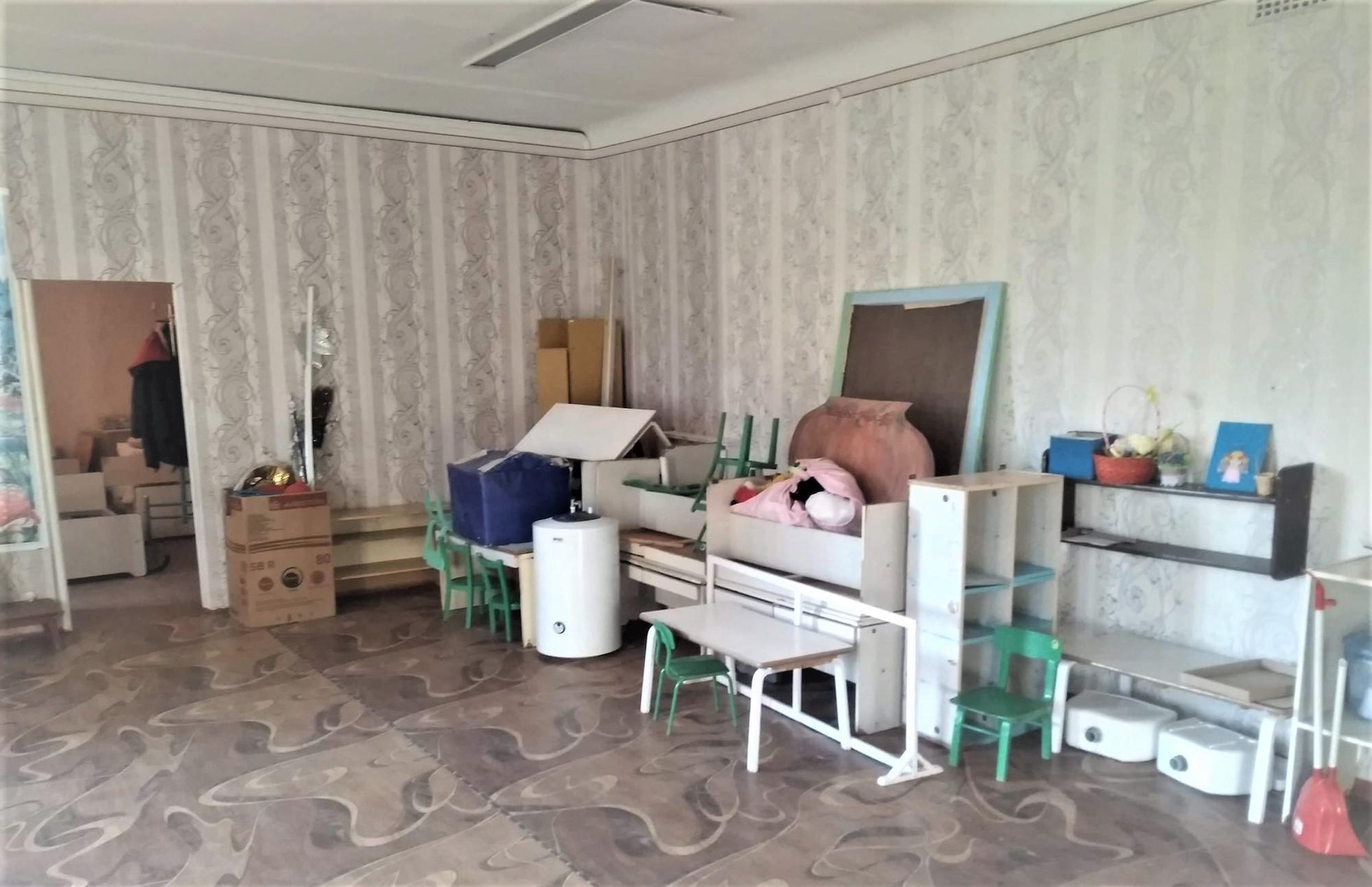 сіверський дитсадок Світлячок ремонт кімната без дітей