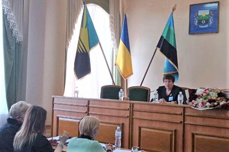 Світлана Кіщенко голова Бахмутської райради