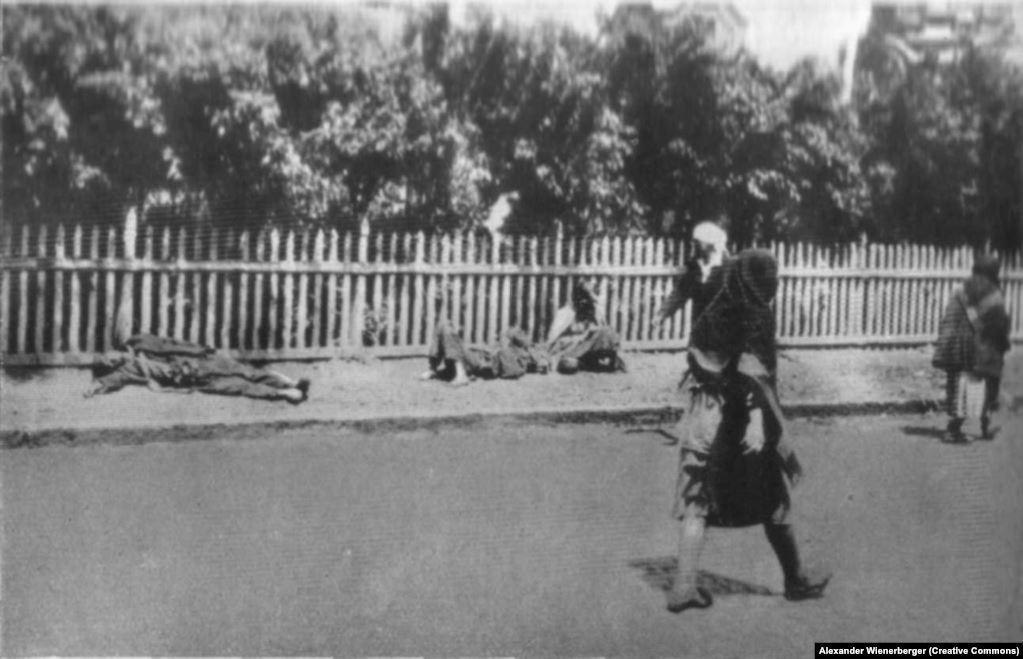жертвы Голодомора Харьков фото Винербергера умершие от голода