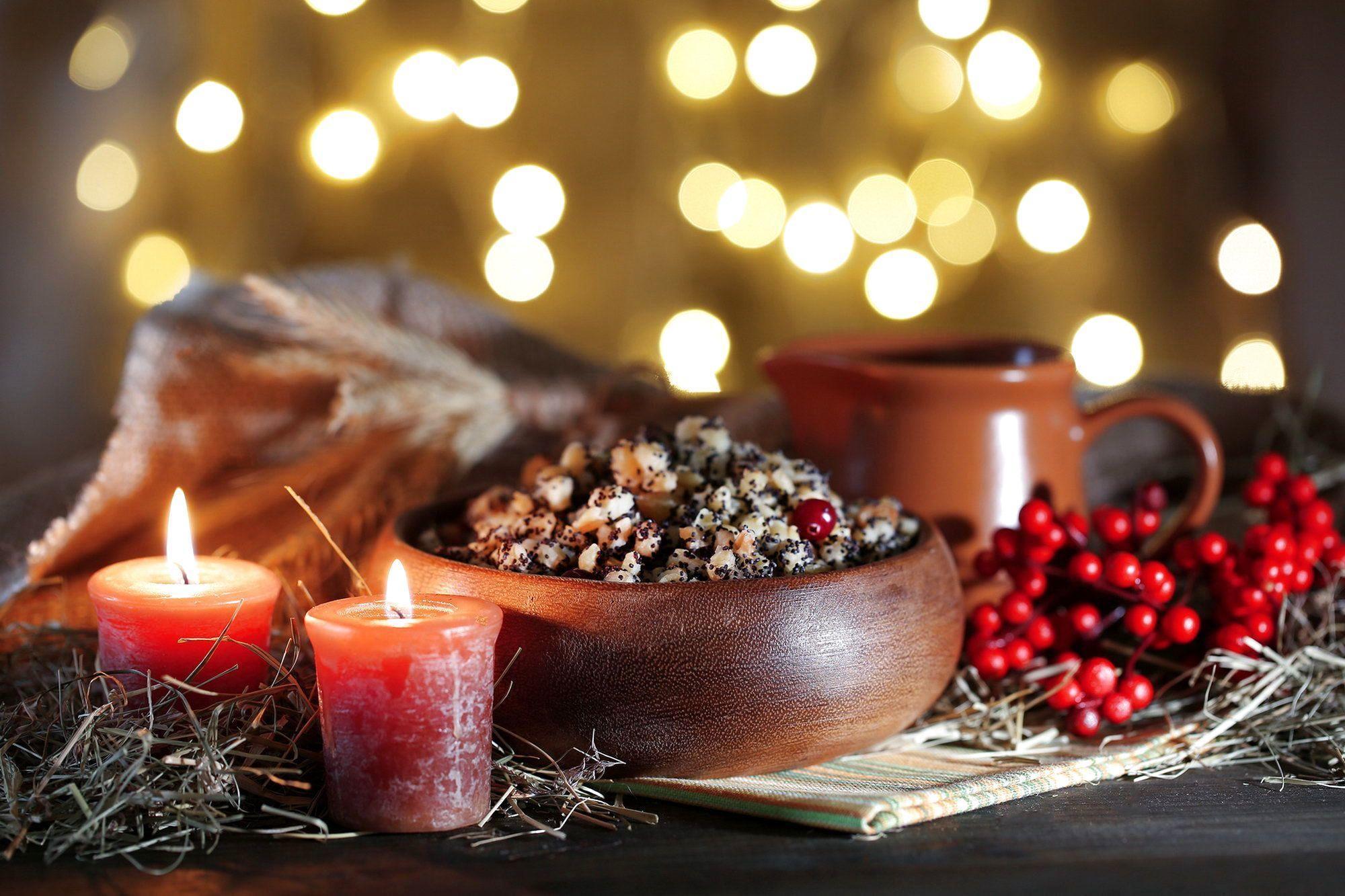 На Рождество украинцы готовят кутью