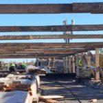 Корпус міської лікарні Торецька, який восени підтопила злива, до кінця грудня вкриють металочерепицею