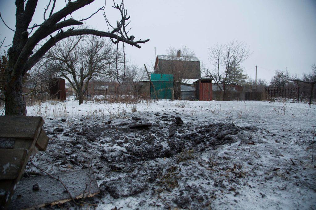 В Водяном на Донбассе обстреляли жилой квартал