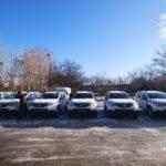 Для сільських амбулаторій Донеччини закупили 18 позашляховиків