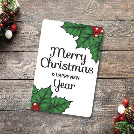Вітальна листівка з Різдвом