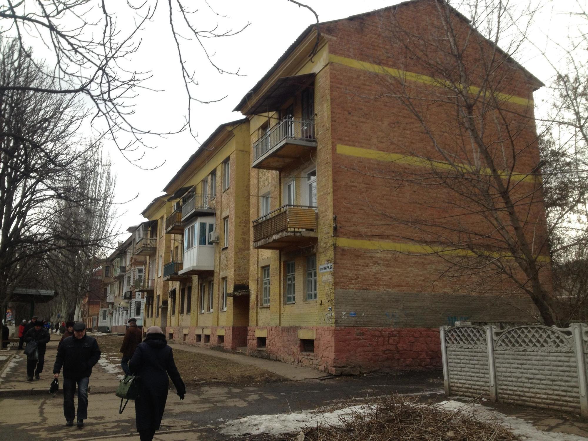 Дім акторів Артемівськ 3-поверхівка довоєнна