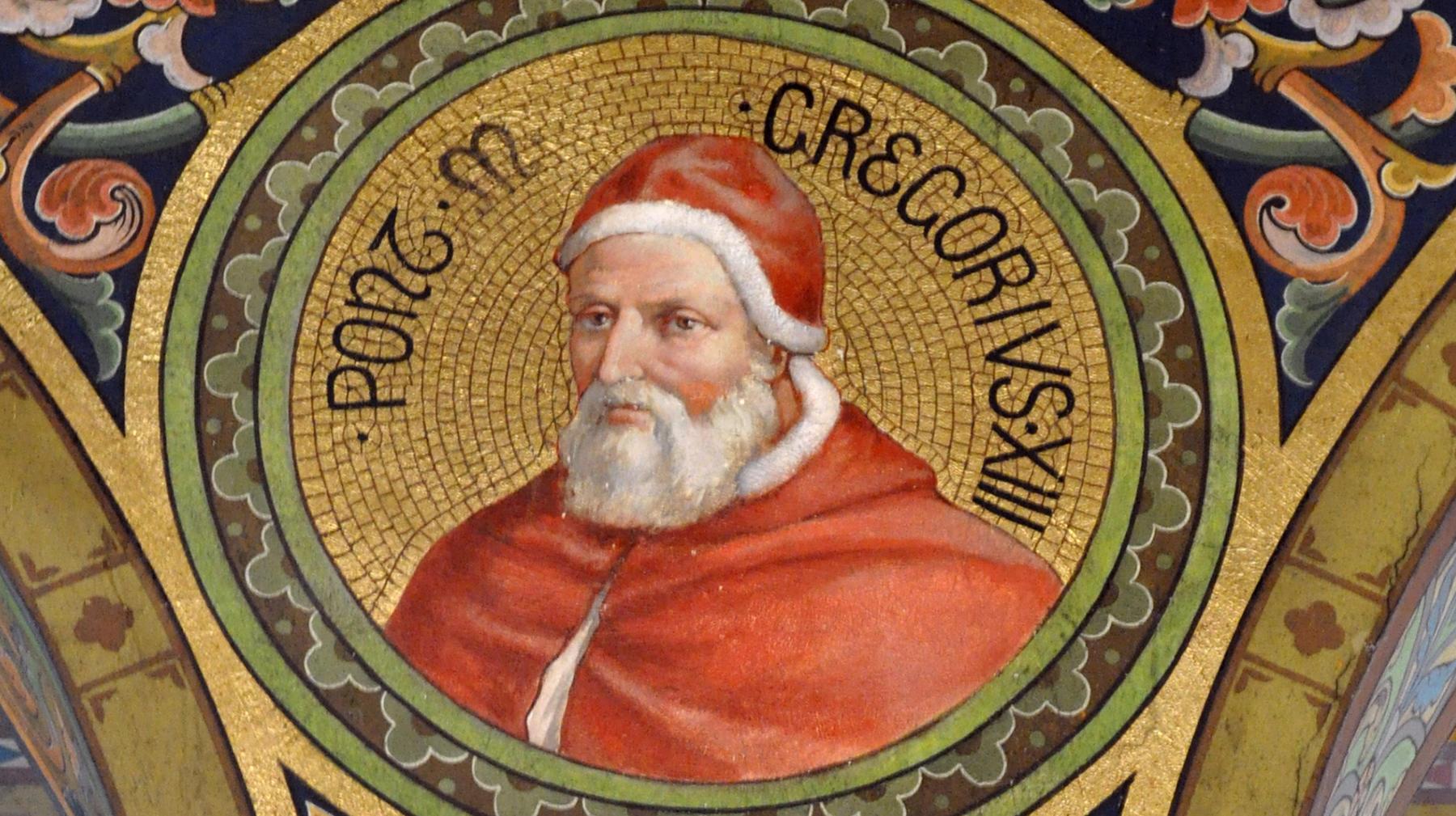 Папа Римский Григорий 13 ввел календарь, по которому украинские католики празднуют Рождество