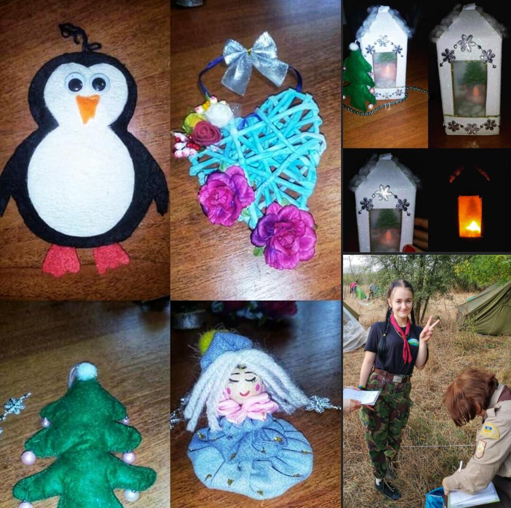 Виготовлено дітьми: 10 новорічних прикрас зроблені дітьми з Донбасу, які можна купити вже зараз (ФОТО)