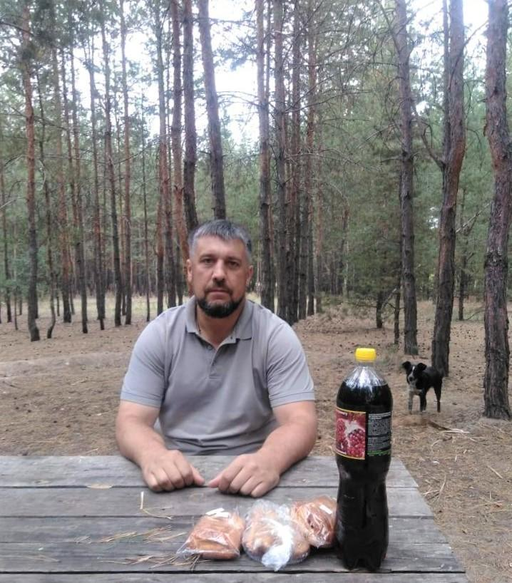 Володимир Кутузов священник ПЦУ сосни ліс Святогірськ