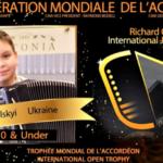 На Донеччині 8-річний акордеоніст переміг на міжнародному музичному конкурсі у Франції