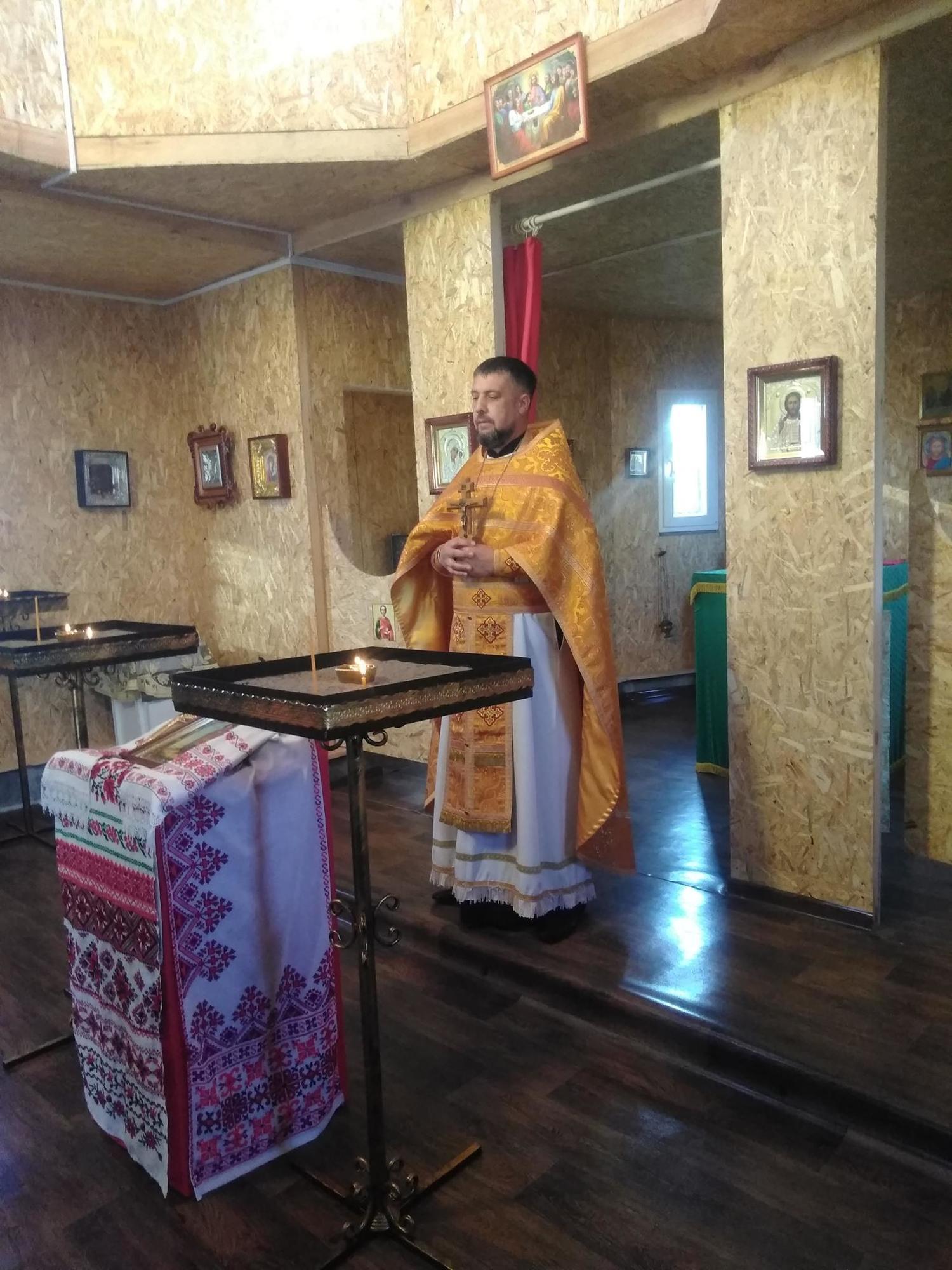 священник ПЦУ Володимир Кутузов
