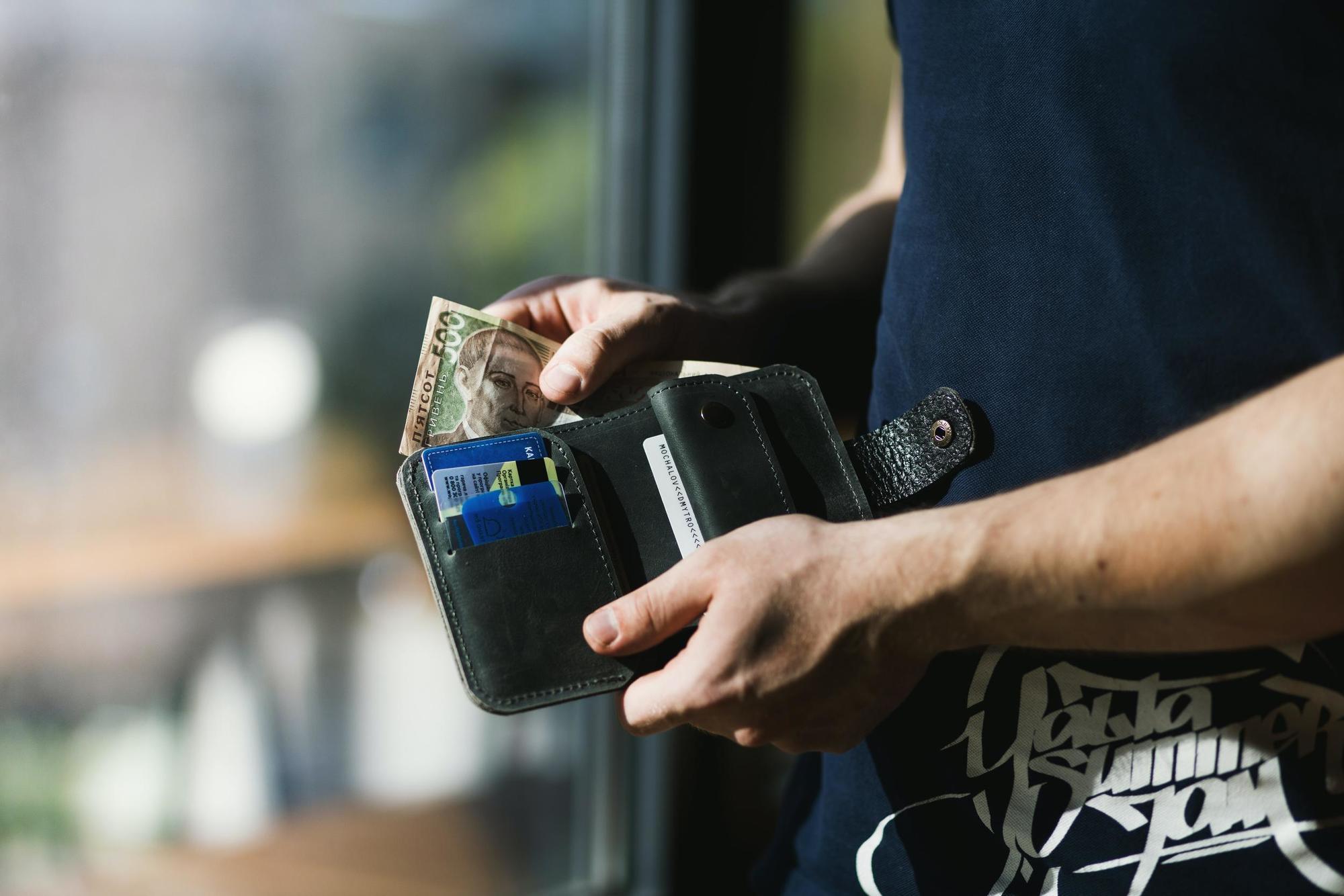 гаманець, гроші, економіка, покупець
