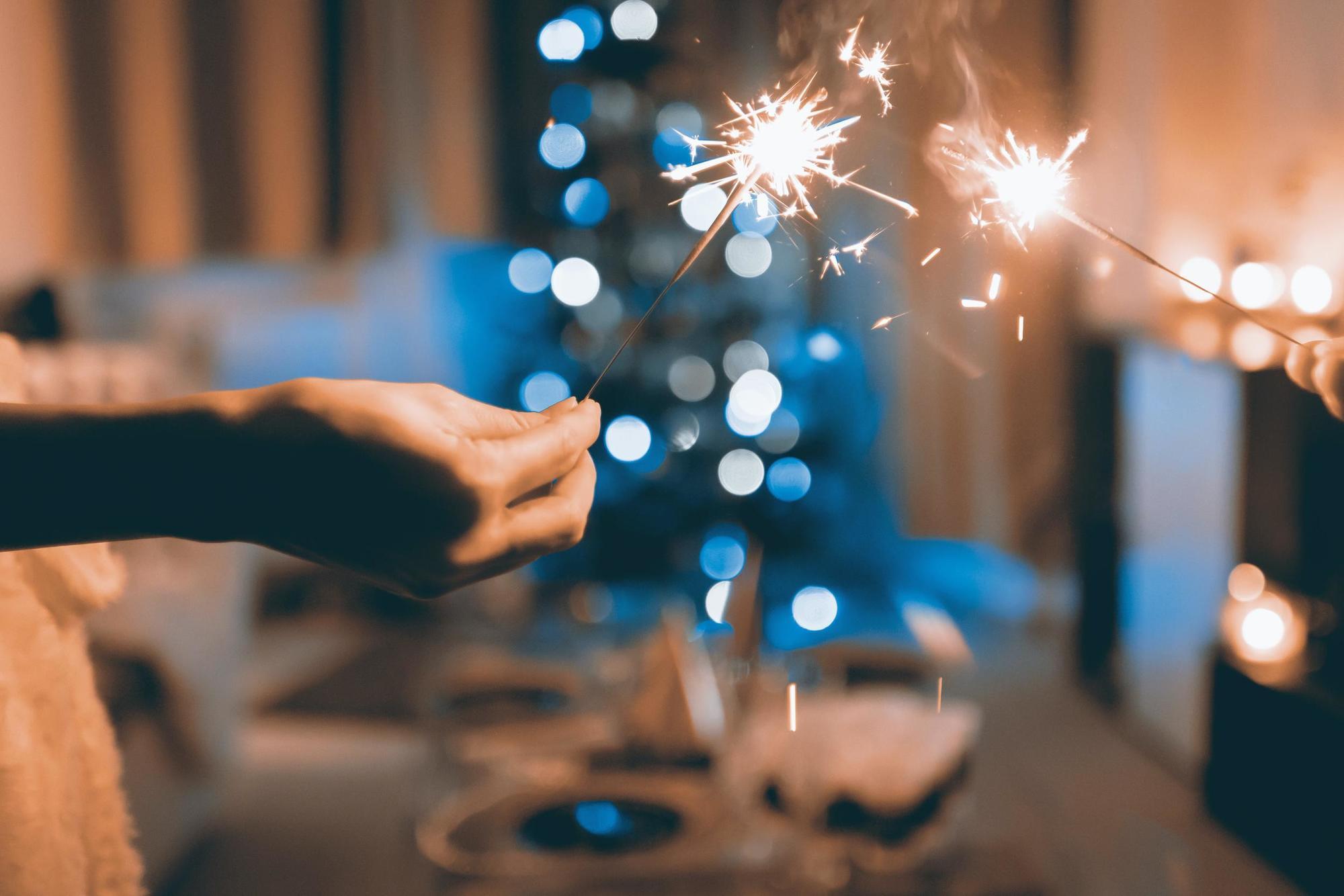 свято, святкування, вогники