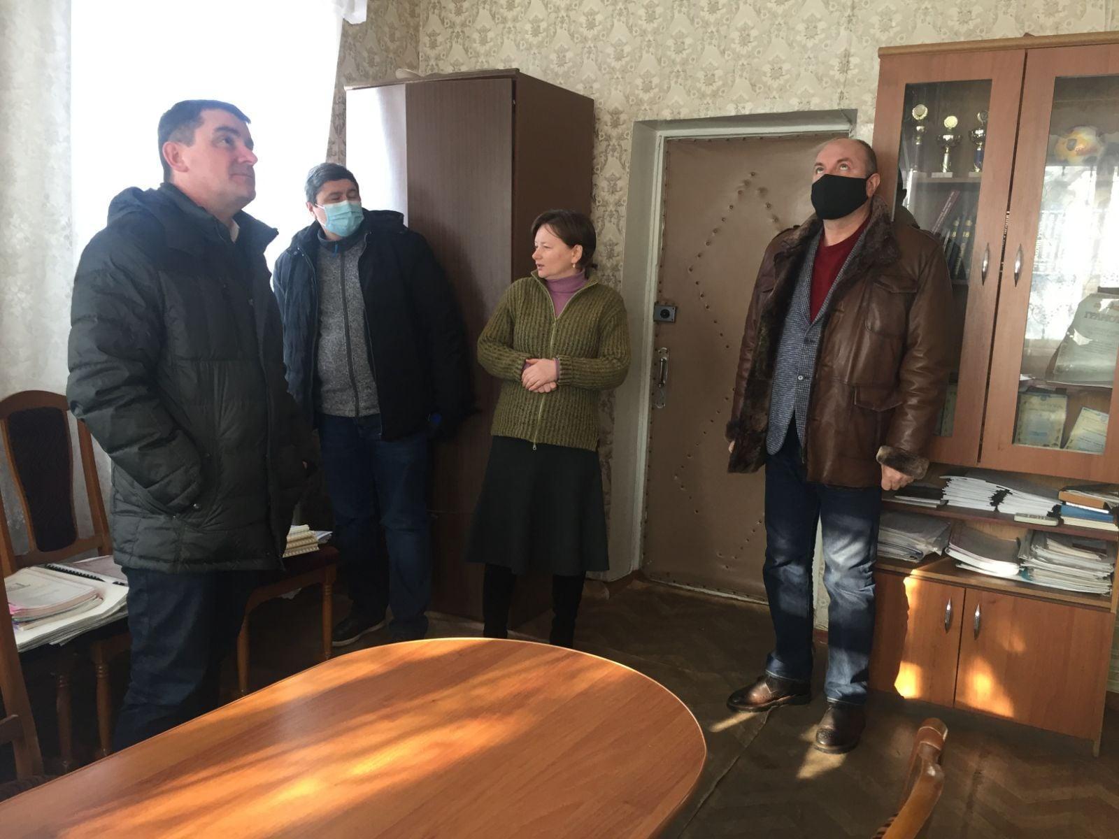 Мэр Славянска Вадим Лях не носит маску в общественных местах
