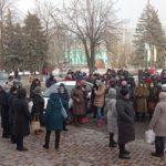 Жители нескольких городов Донетчины устроили протест против роста тарифов