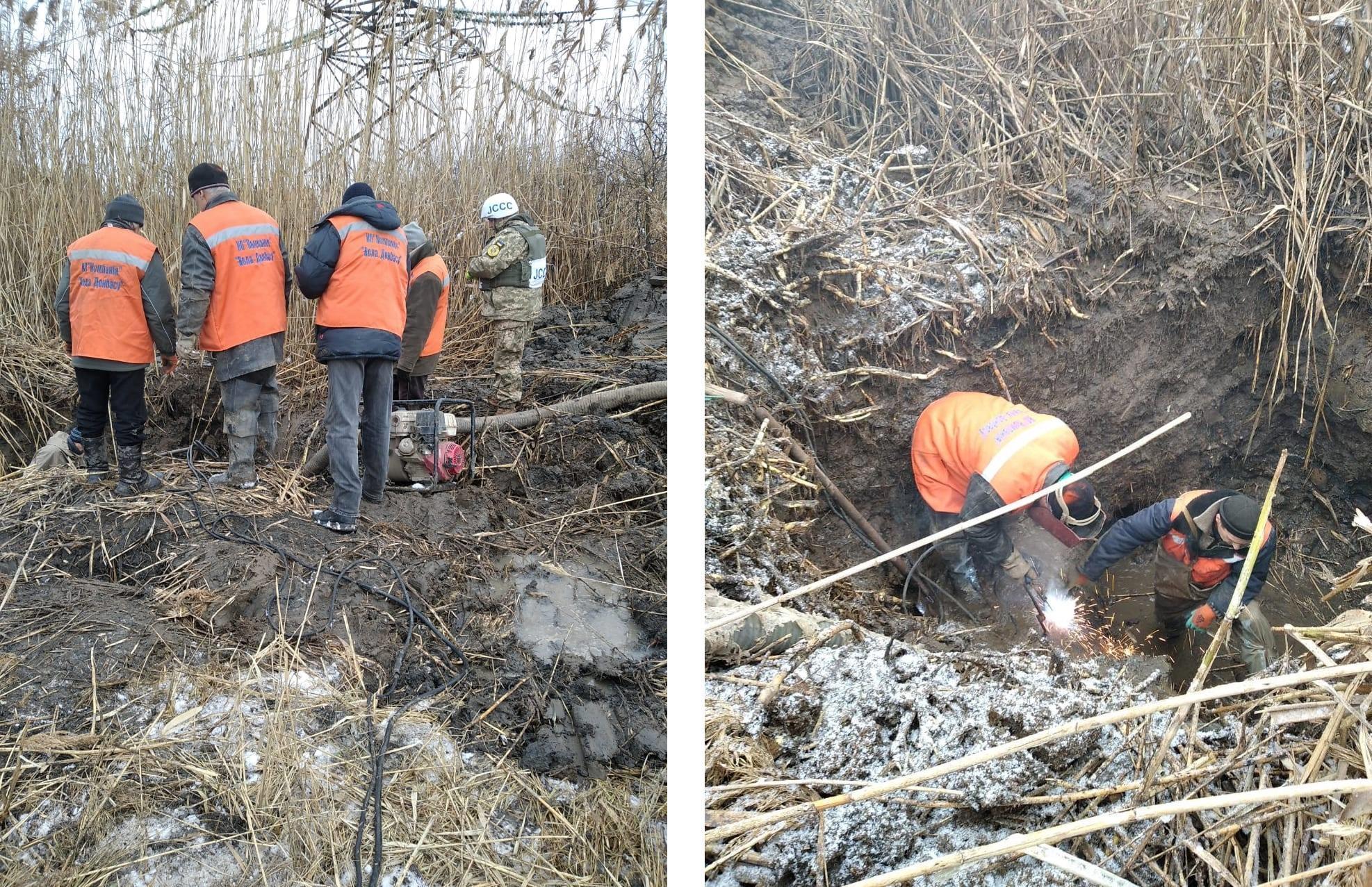 Воду в Торецке, Пивденном, Пивничном, Зализном и Щербиновке обещают дать 13 января