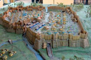 макет Бахмутської фортеці в Бахмутському краєзнавчому музеї
