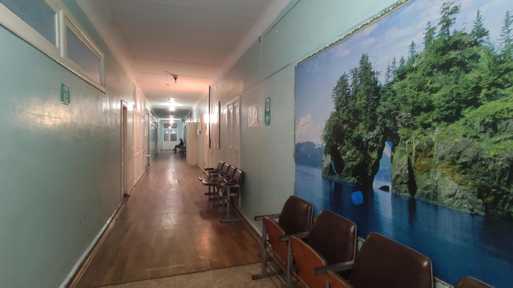 міська лікарня у Сіверську