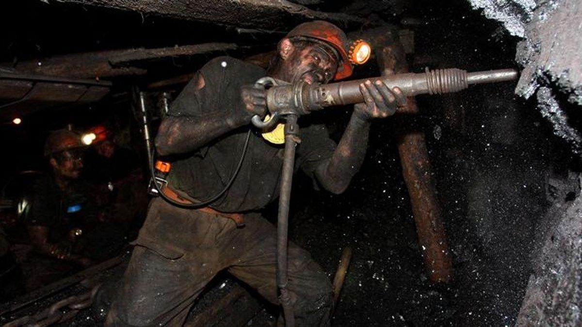 Условия труда шахтеров Донбасса