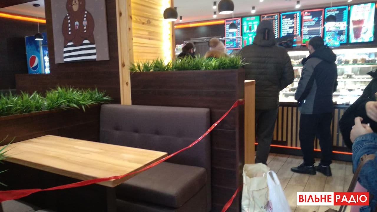 Як працюють кафе та ресторани під час локдауну в Бахмуті на Донеччині