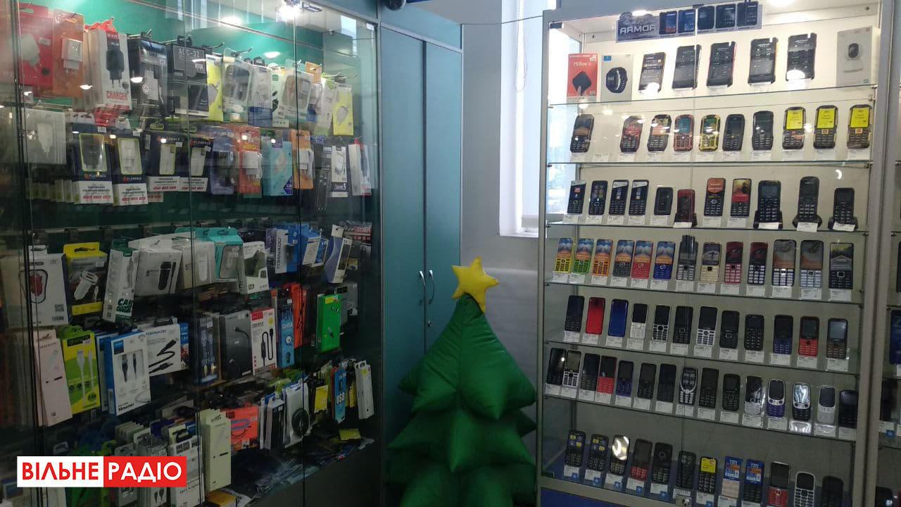 Как работают магазины связи во время локдауна в Бахмуте на Донетчине