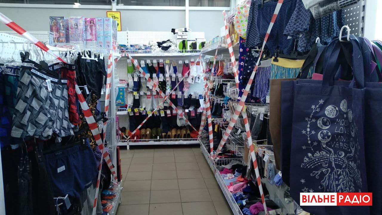 Как работают магазины промтоваров во время локдауна в Бахмуте на Донетчине