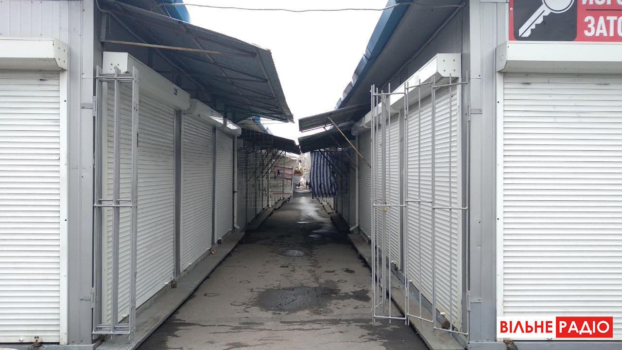 Як працює ринок під час локдауну в Бахмуті на Донеччині