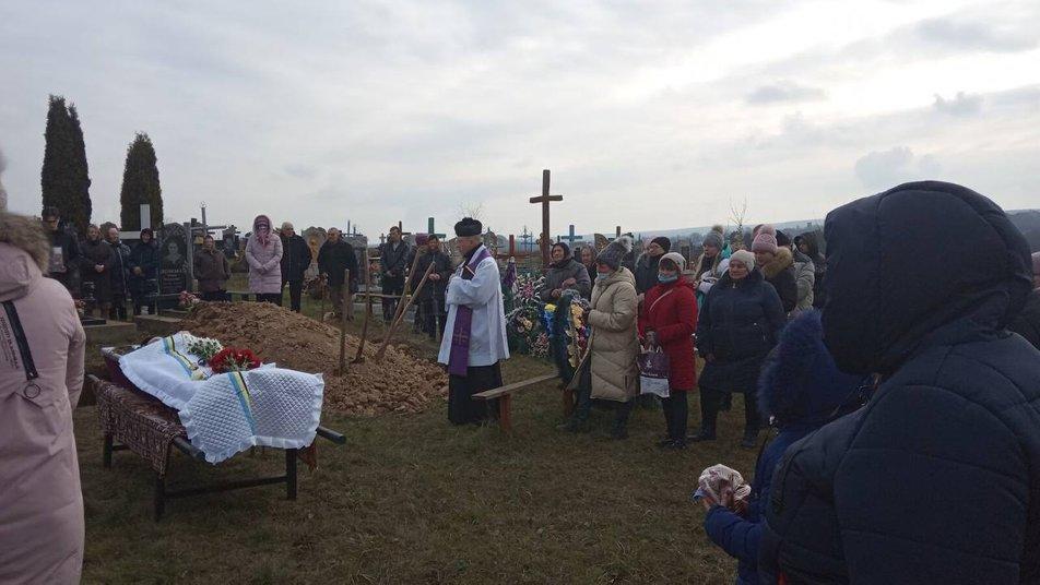 похорон Вікторії Слободянюк на Вінниччині