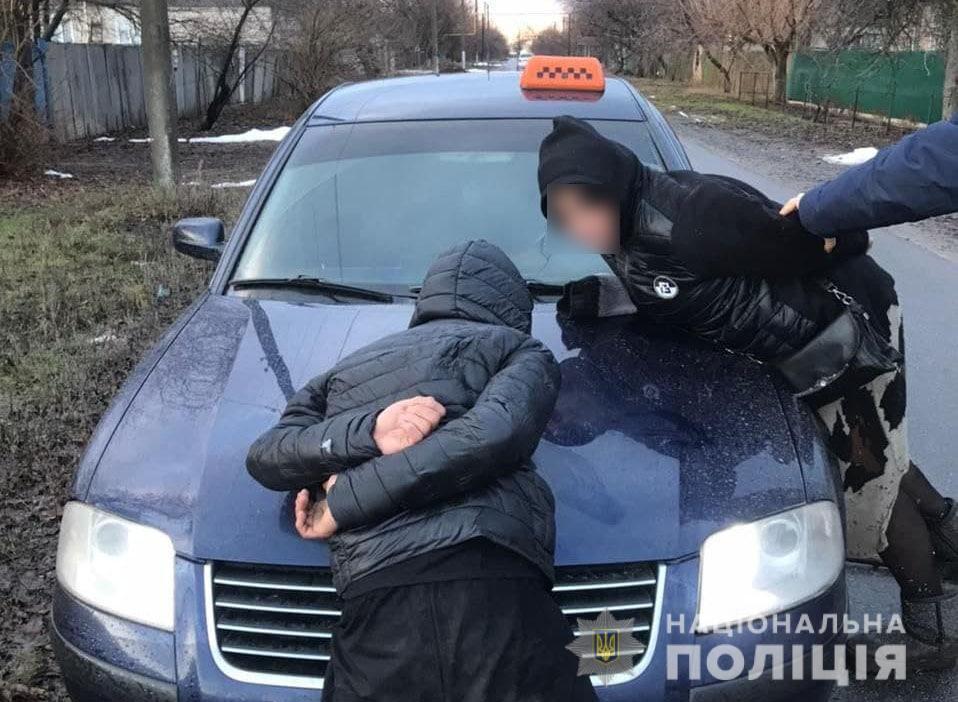 18-летний парень угнал такси на Донетчине и перевернулся на нем