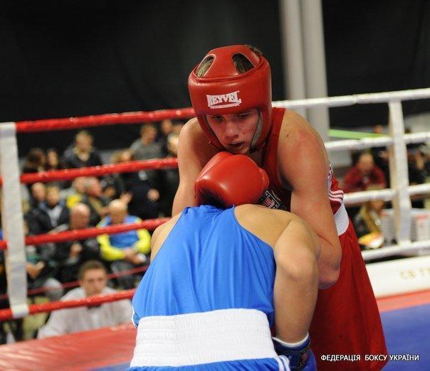 Артем Лапін боксер з Соледара