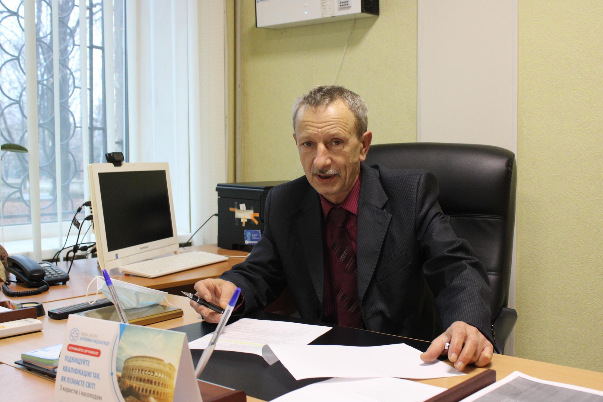 головний лікар Світлодарської міської лікарні Геннадій Гуржий