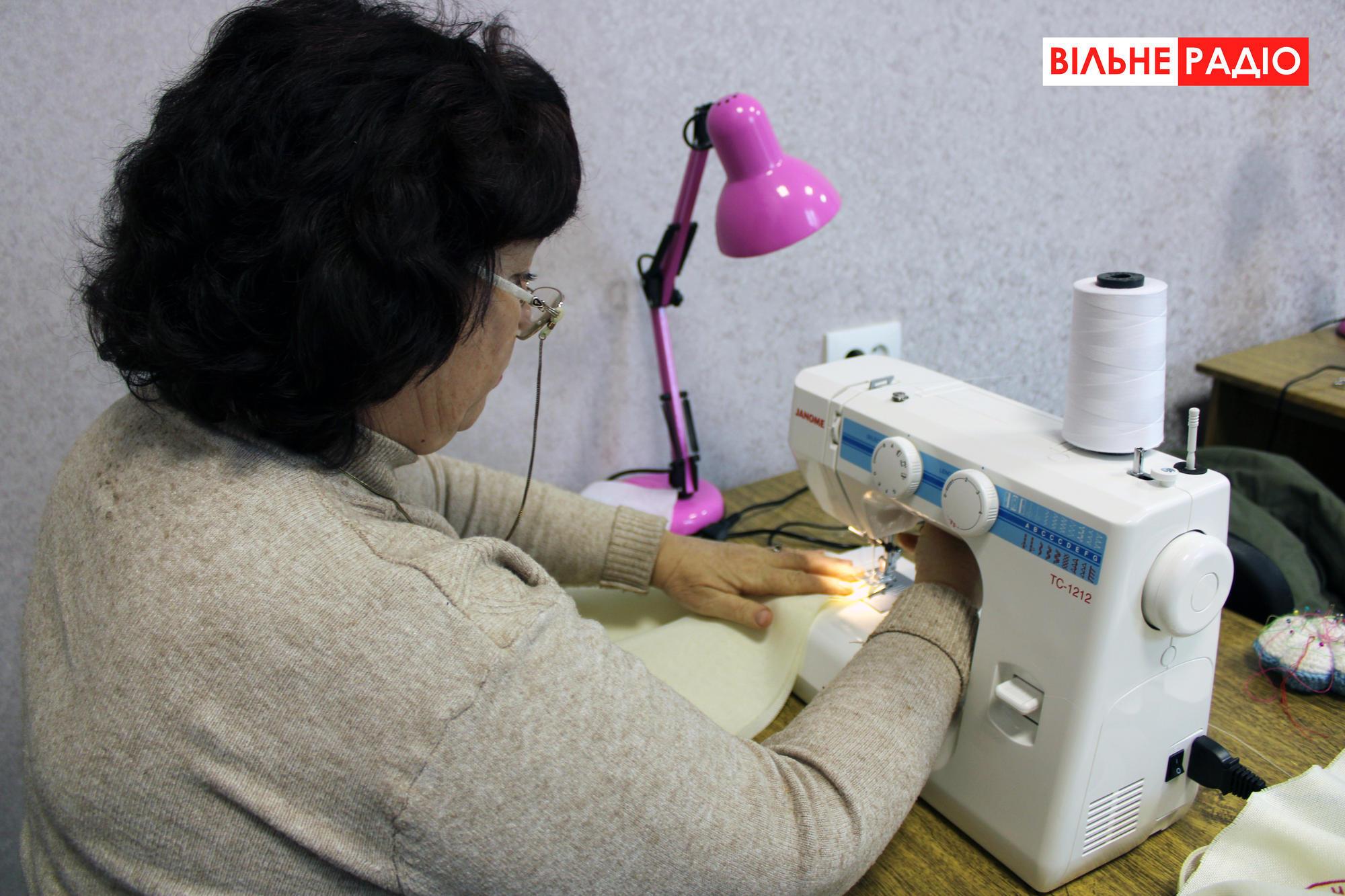 На Донеччині запрацювала майстерня з пошиття еко-сумок