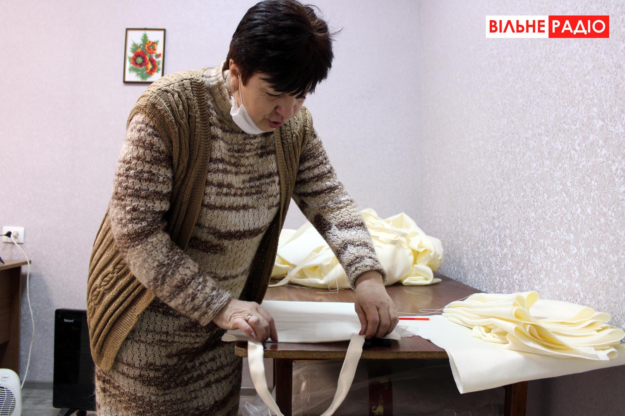 Як на Донеччині шиють екоторбинки
