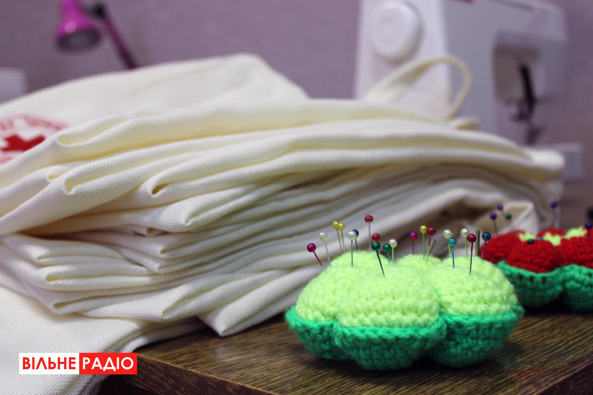 На Донеччині шиють еко-торби