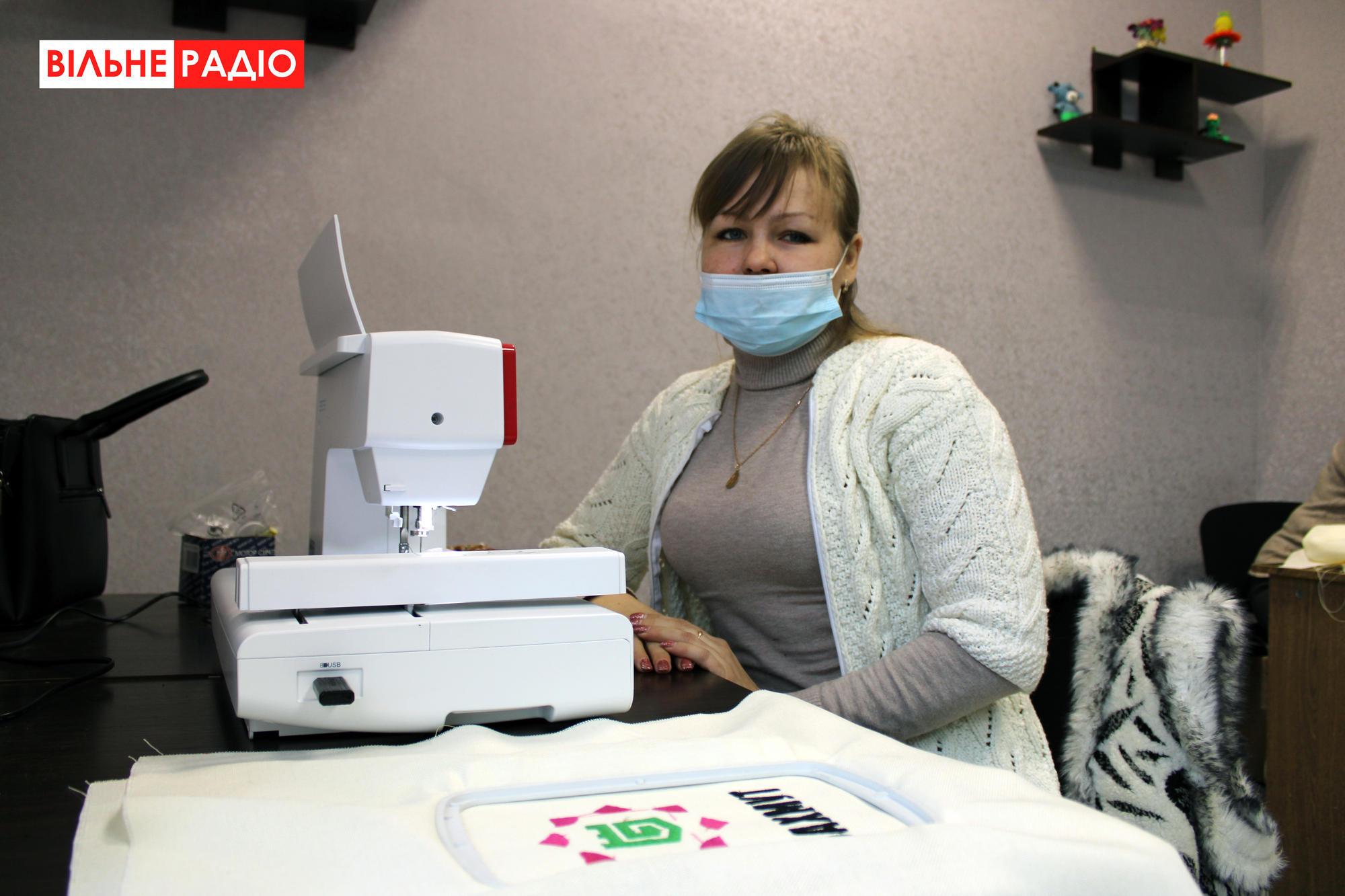 На Донеччині відкрили майстерню, де шиють еко-торбинки