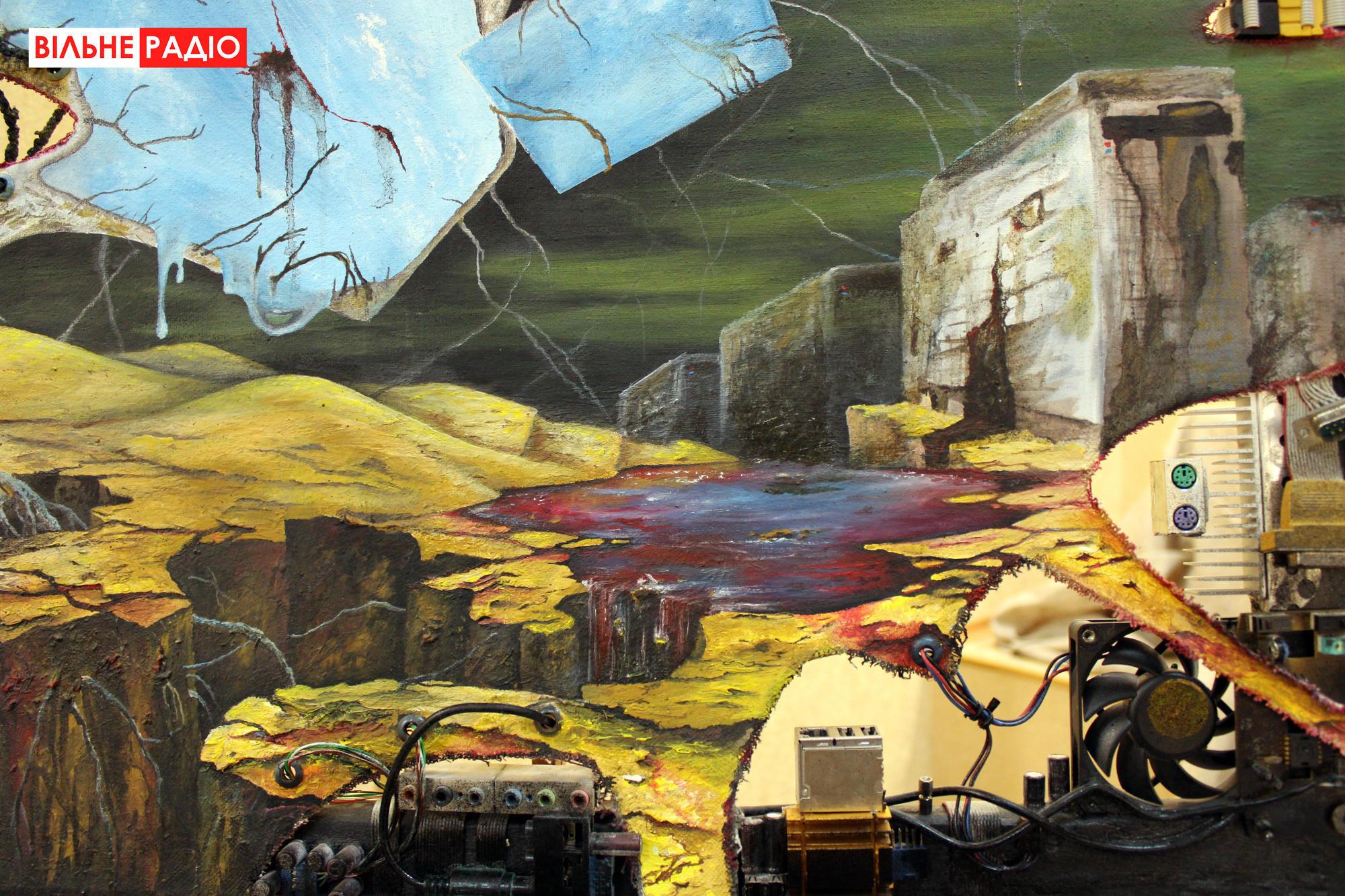 У Бахмуті відкрилася виставка авангардного мистецтва
