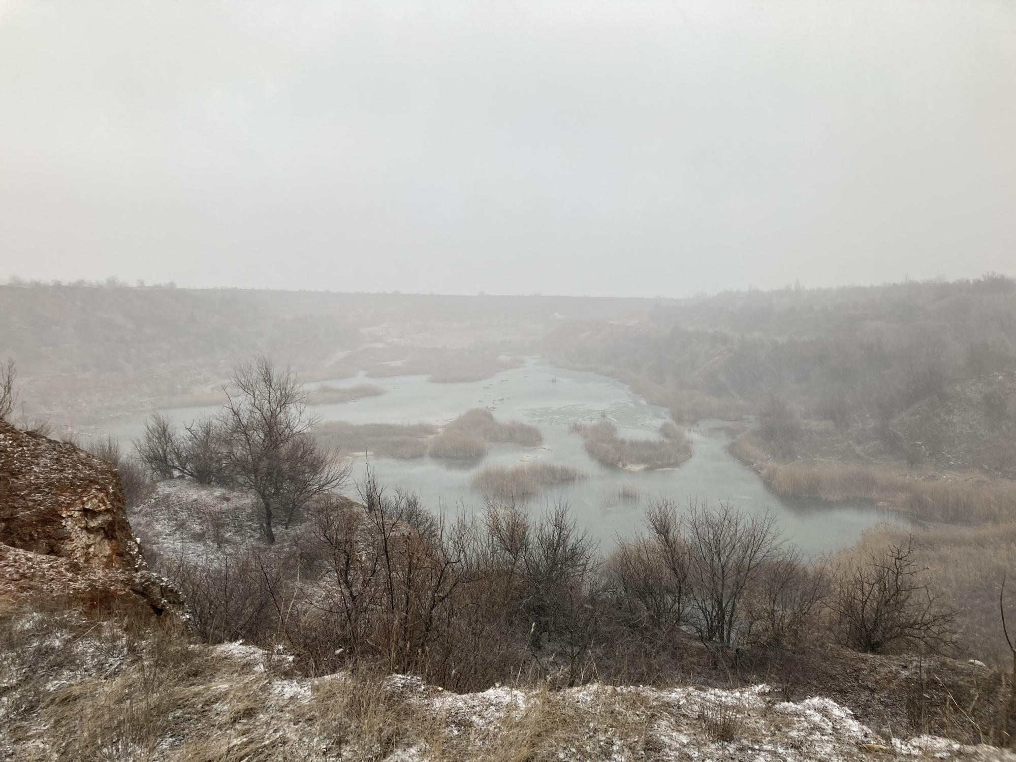 місце видобування гіпсу Кнауф гіпс Донбас у Соледарі